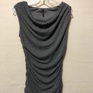 Grey Maurices tank blouse